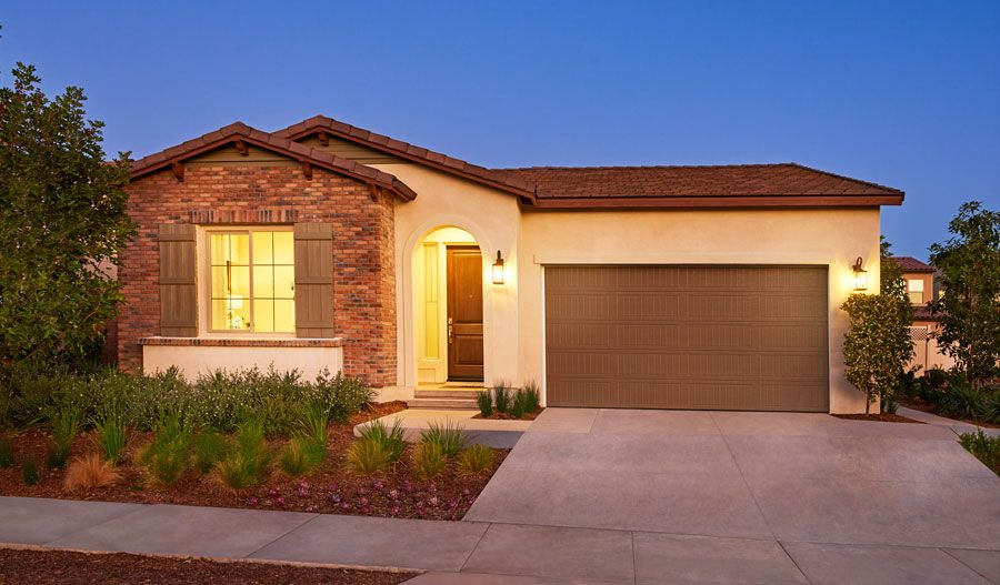 Exterior featured in the Avalon By Richmond American Homes in Riverside-San Bernardino, CA
