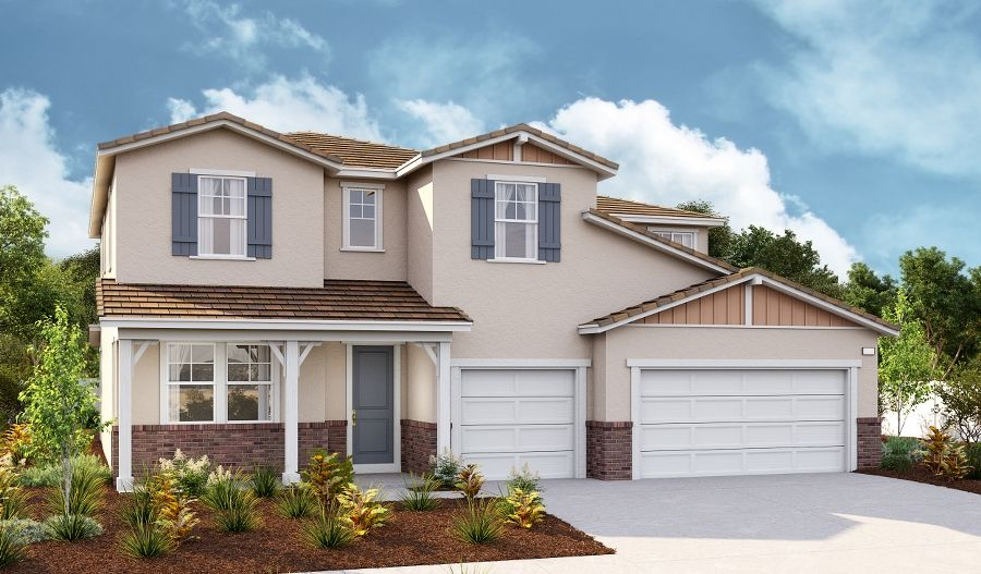 Exterior featured in the Dillon II By Richmond American Homes in Riverside-San Bernardino, CA