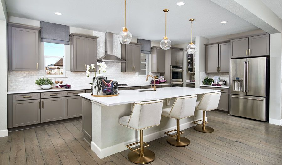 Kitchen featured in the Dillon II By Richmond American Homes in Denver, CO