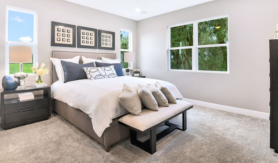 Bedroom featured in the Pewter By Richmond American Homes in Orlando, FL