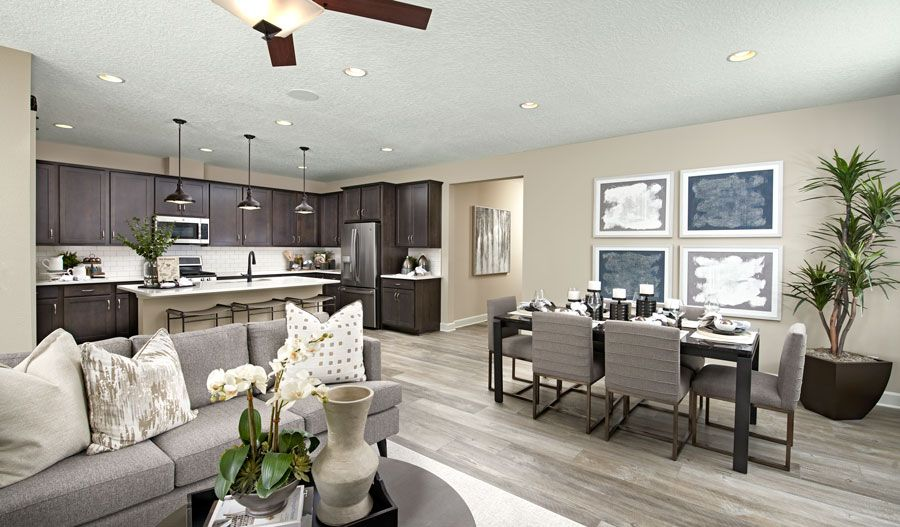 Living Area featured in the Slate By Richmond American Homes in Lakeland-Winter Haven, FL
