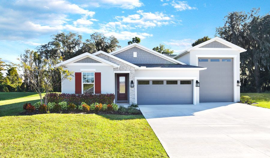 Exterior featured in the Pewter By Richmond American Homes in Orlando, FL