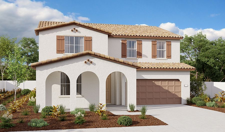 Exterior featured in the Ammolite By Richmond American Homes in Sacramento, CA