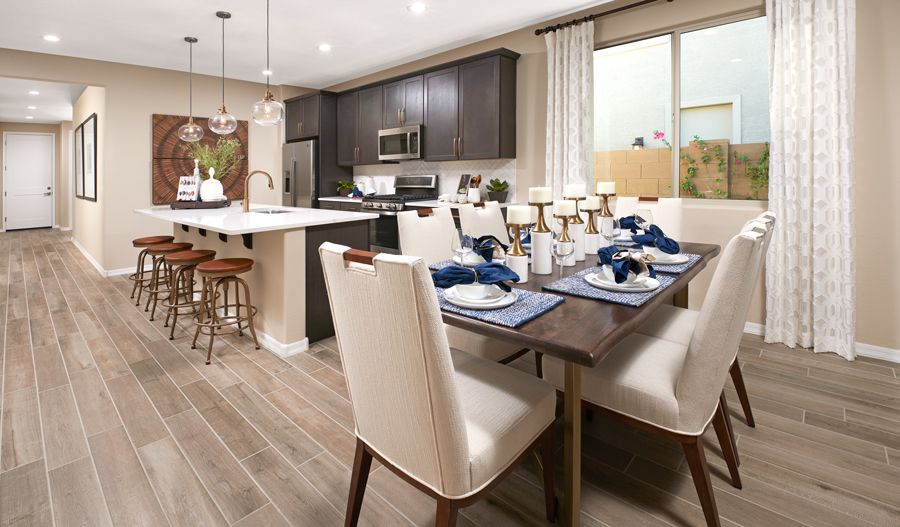 Kitchen featured in the Sapphire By Richmond American Homes in Phoenix-Mesa, AZ