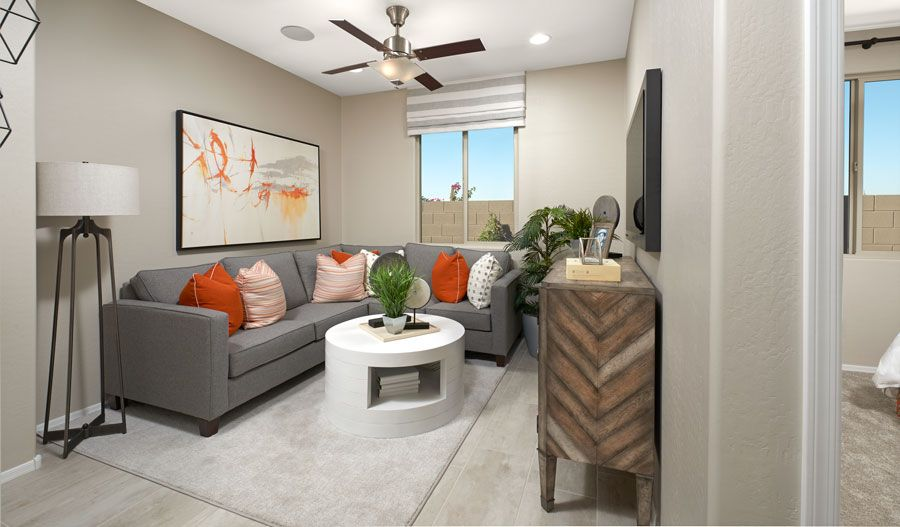 Living Area featured in the Sunstone By Richmond American Homes in Phoenix-Mesa, AZ