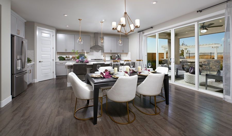 Kitchen featured in the Sutherland By Richmond American Homes in Sacramento, CA