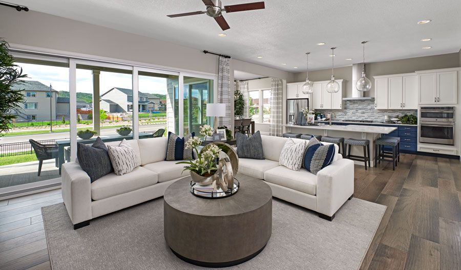 Living Area featured in the Decker By Richmond American Homes in Sacramento, CA