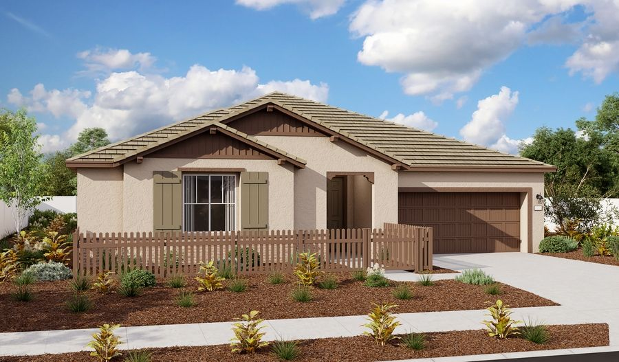 Exterior featured in the Paige By Richmond American Homes in Sacramento, CA