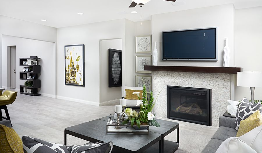 Living Area featured in the Paige By Richmond American Homes in Sacramento, CA