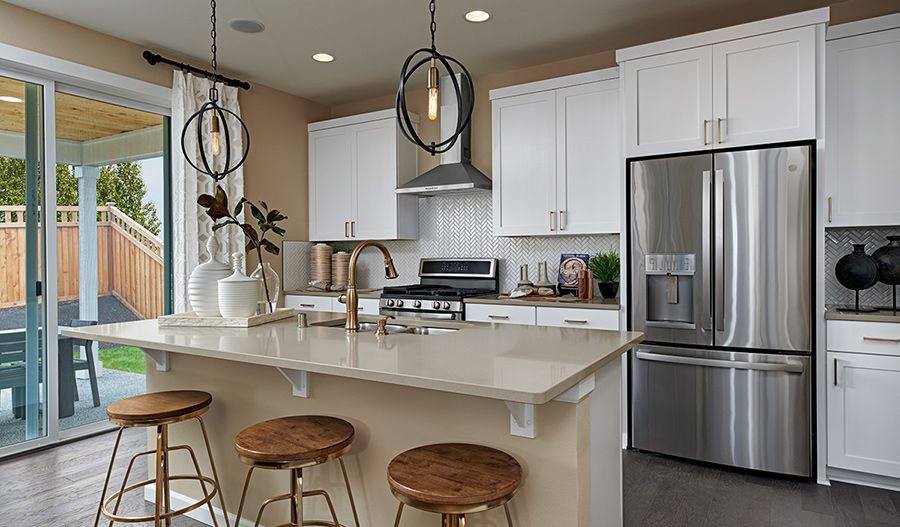 Kitchen featured in the Lapis By Richmond American Homes in Sacramento, CA