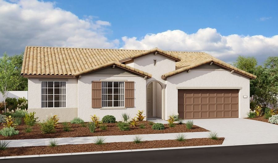 Exterior featured in the Decker By Richmond American Homes in Sacramento, CA