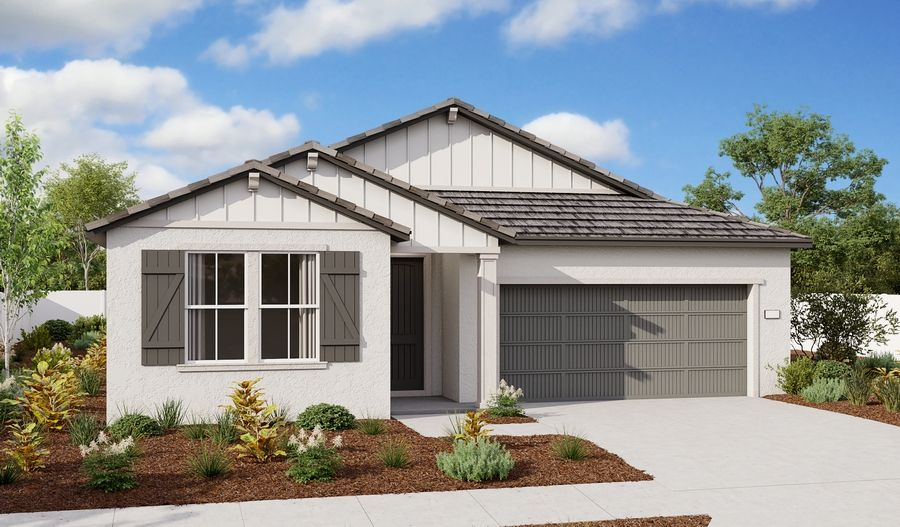 Exterior featured in the Arlington By Richmond American Homes in Sacramento, CA