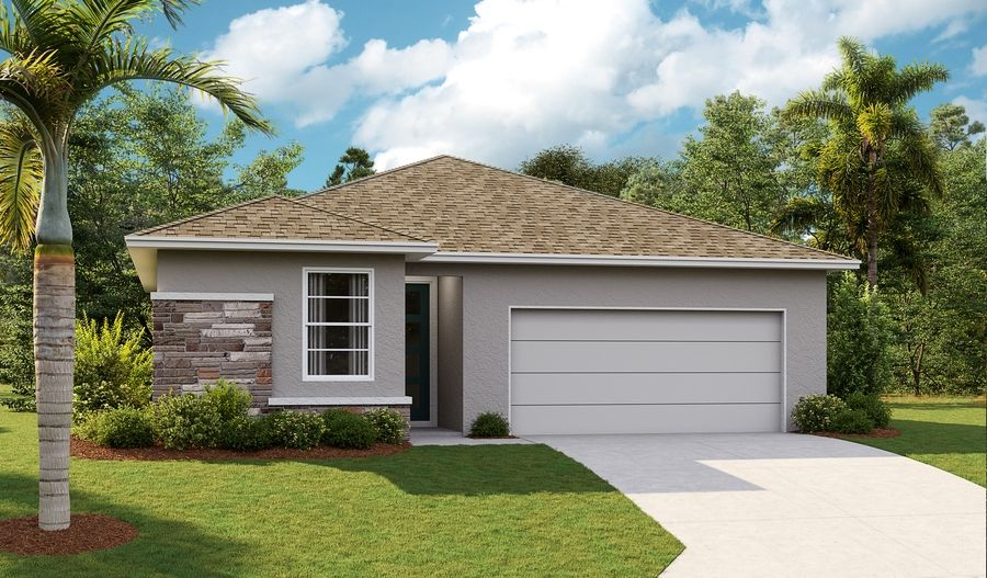 Exterior featured in the Emerald By Richmond American Homes in Lakeland-Winter Haven, FL