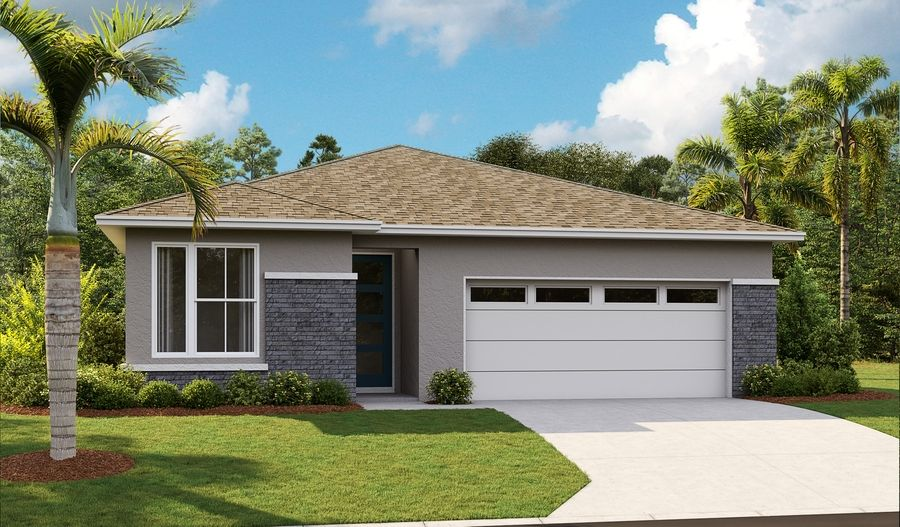Exterior featured in the Ruby By Richmond American Homes in Lakeland-Winter Haven, FL