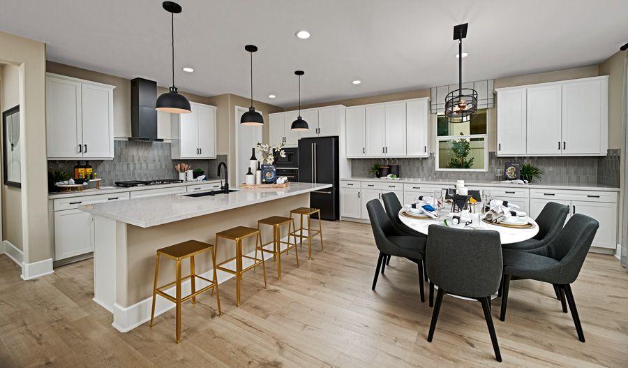 Kitchen featured in the Finch By Richmond American Homes in Riverside-San Bernardino, CA