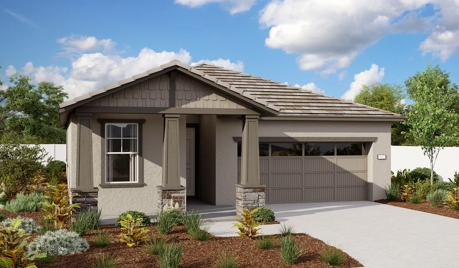 Exterior featured in the Peridot By Richmond American Homes in Sacramento, CA