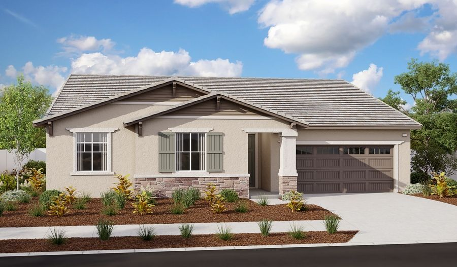Exterior featured in the Delaney By Richmond American Homes in Riverside-San Bernardino, CA