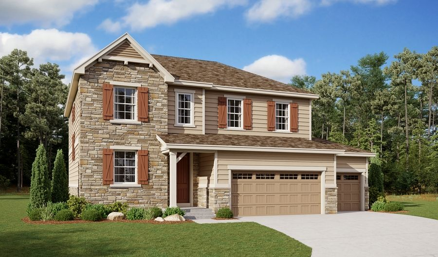 Exterior featured in the Hemingway By Richmond American Homes in Denver, CO