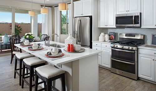 Kitchen-in-Coral-at-Sycamore Farms by Richmond American-in-Surprise