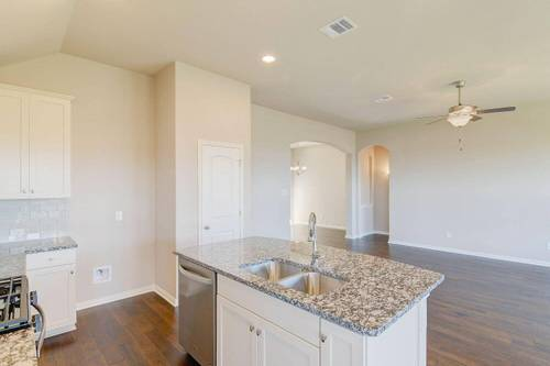 Kitchen-in-Warrenton XXI-at-Santa Rita Ranch South 50'-in-Liberty Hill