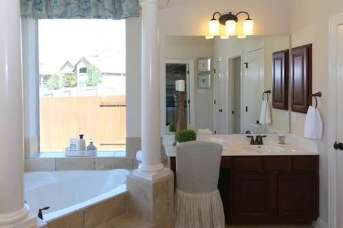 Bathroom-in-Kollek V-at-Parkside at Mayfield Ranch-in-Georgetown