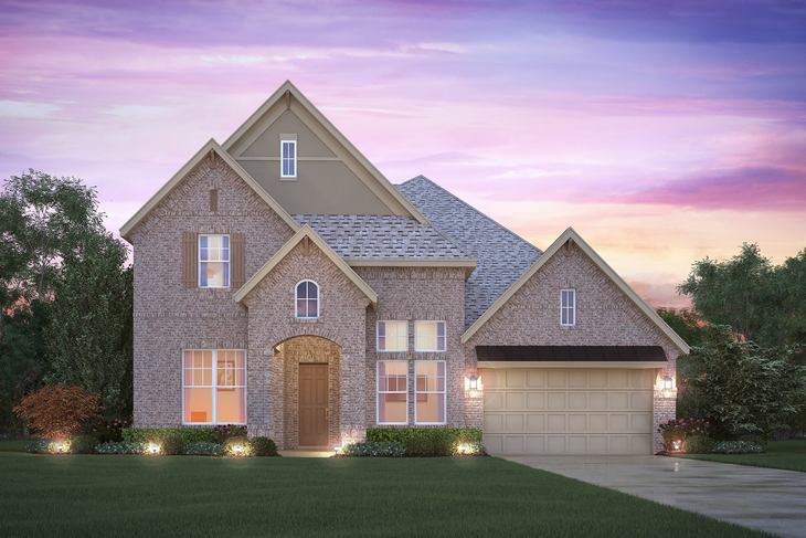 Bellaire Elevation A