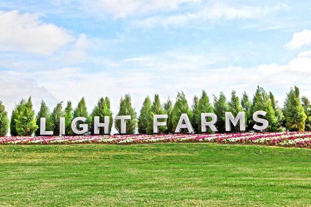 Light Farms Entrance