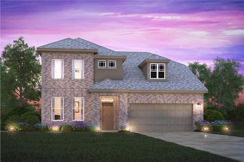 Creekwood By M I Homes In Fort Worth Texas