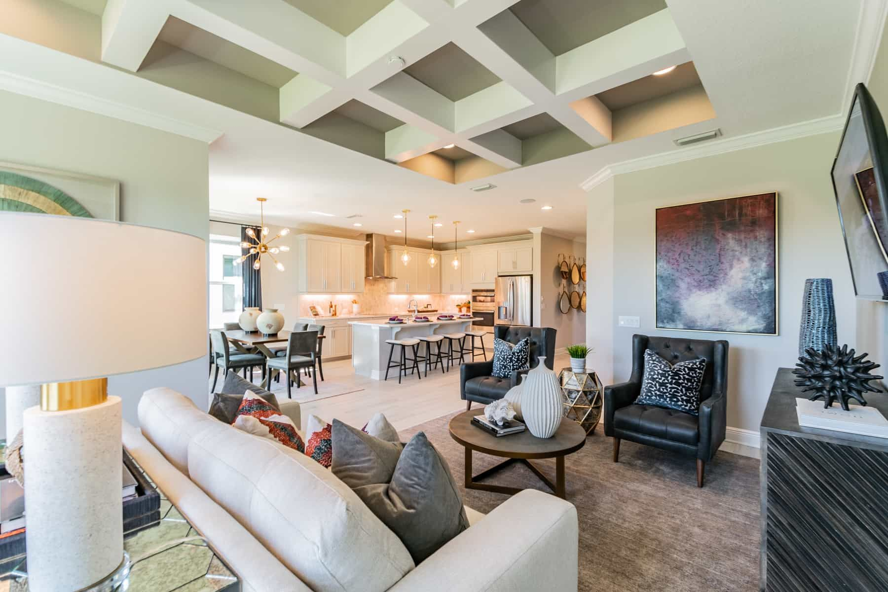 Living Area featured in the Calusa By M/I Homes in Sarasota-Bradenton, FL