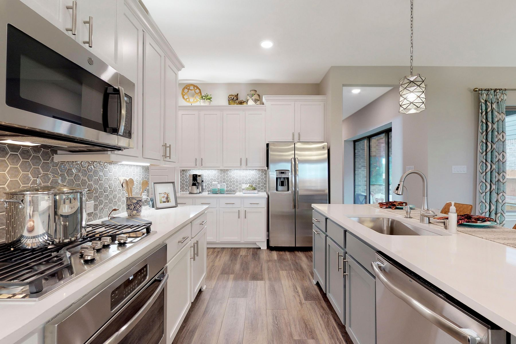 Kitchen featured in the Coronado By M/I Homes in Houston, TX