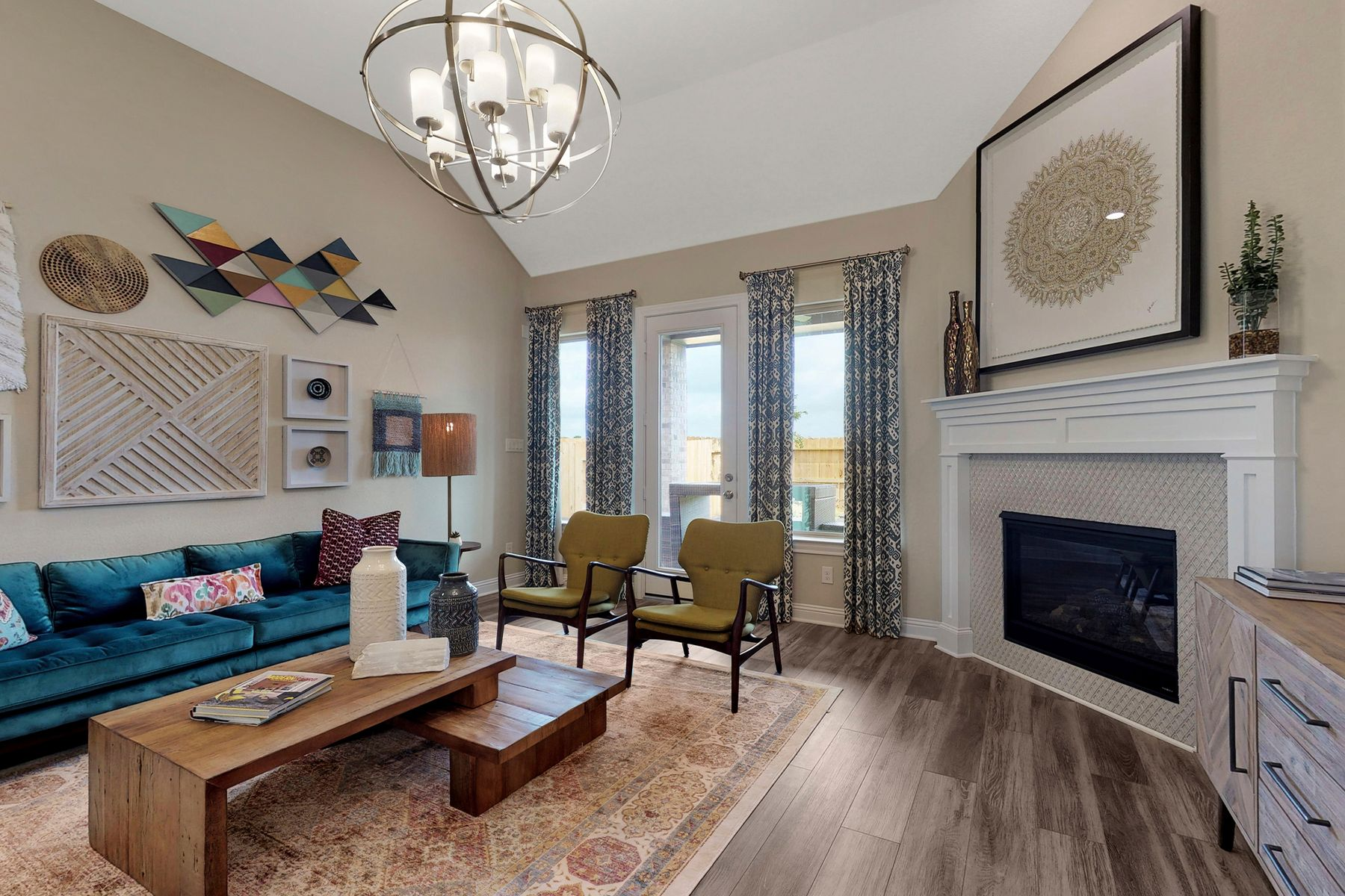 Living Area featured in the Coronado By M/I Homes in Houston, TX
