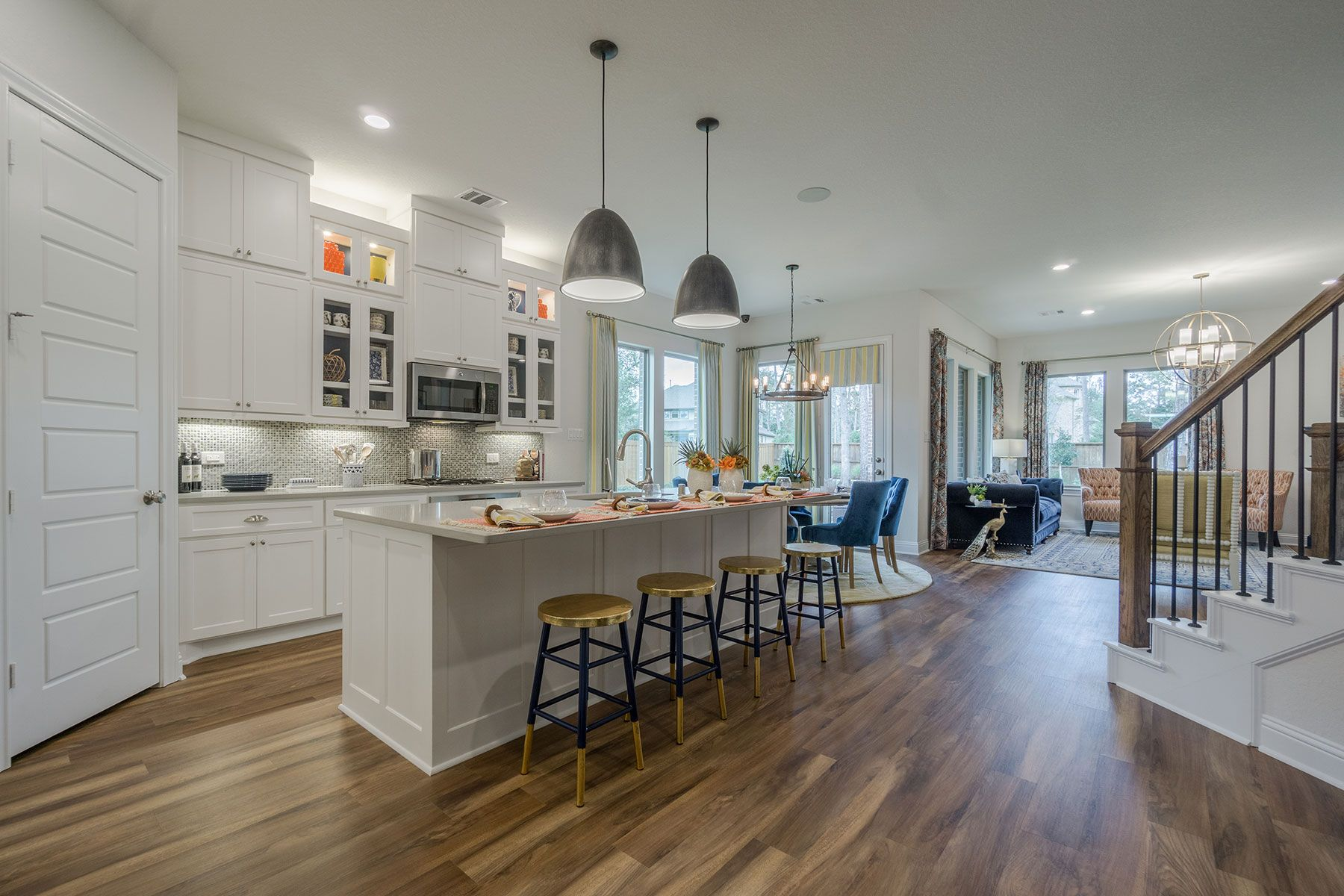 Kitchen featured in the Roseville By M/I Homes in Houston, TX