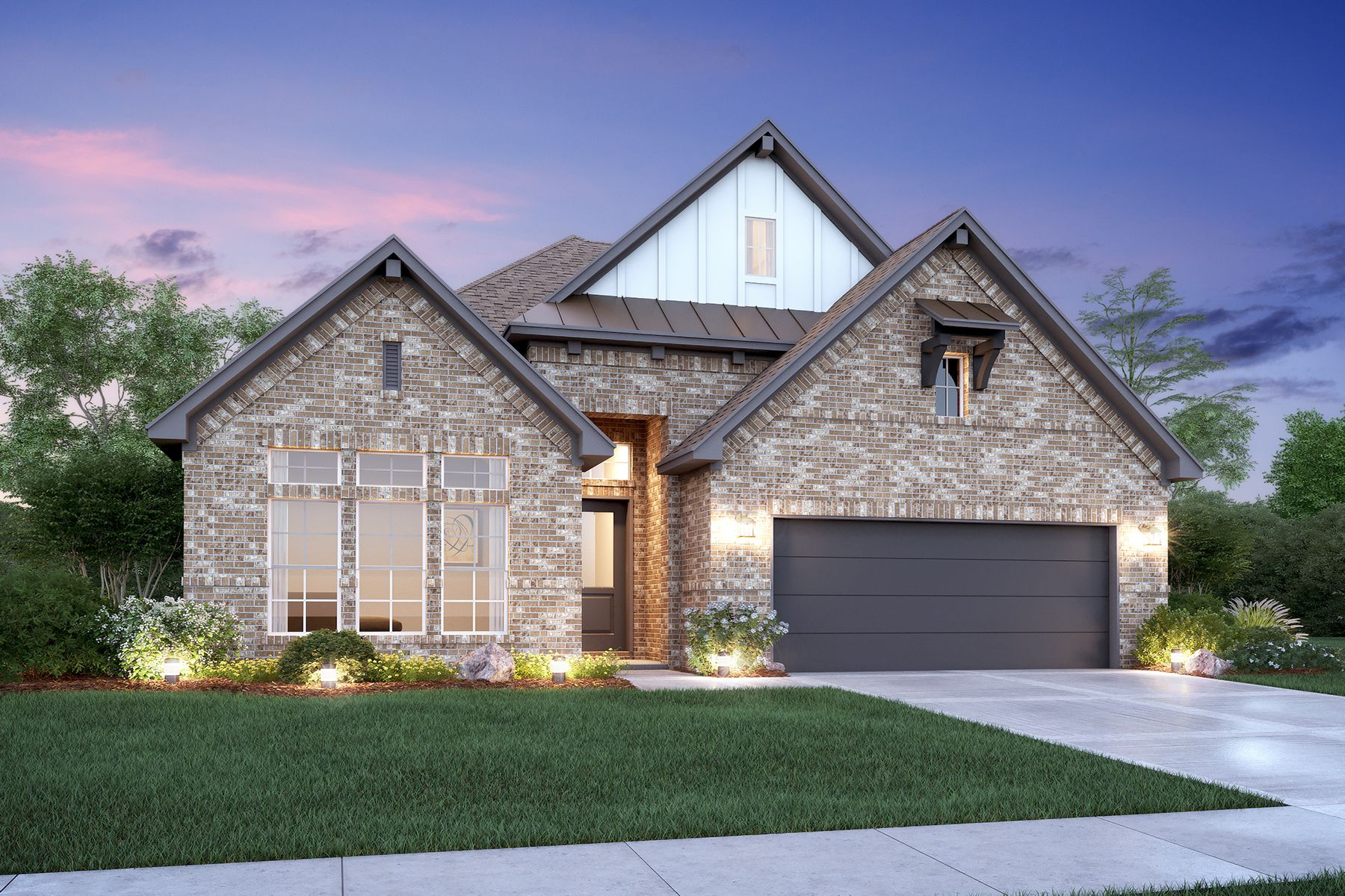 Exterior featured in the Roseville By M/I Homes in Houston, TX