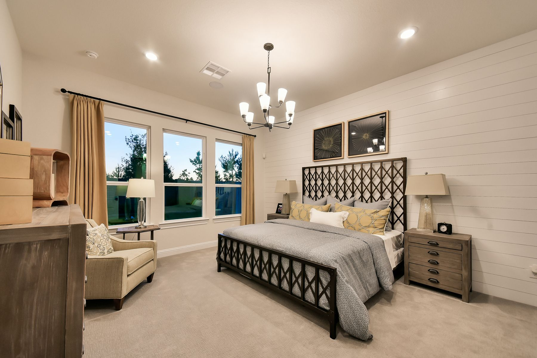 Bedroom featured in the Roseville By M/I Homes in Houston, TX