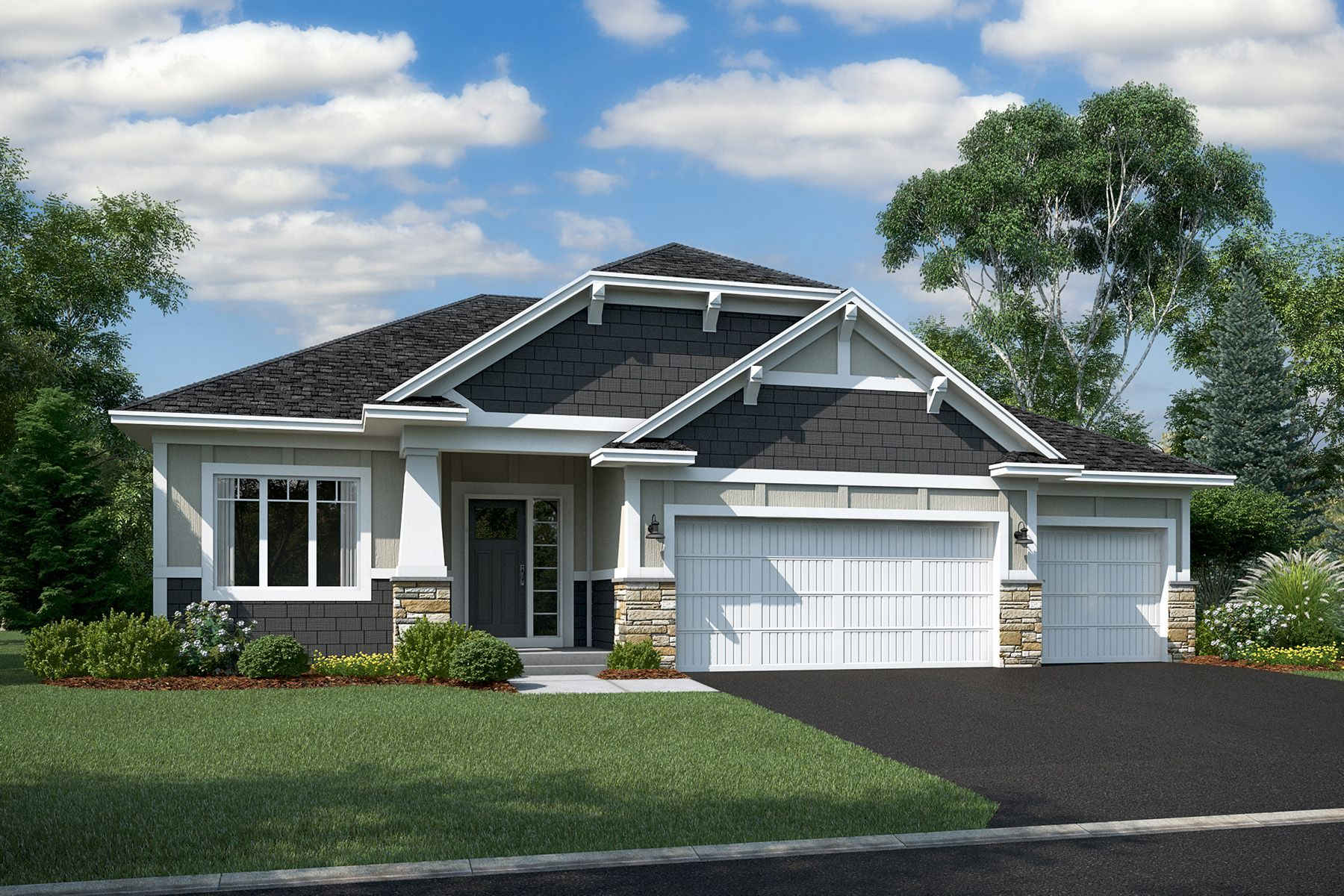 Exterior featured in the Langford By M/I Homes in Minneapolis-St. Paul, MN