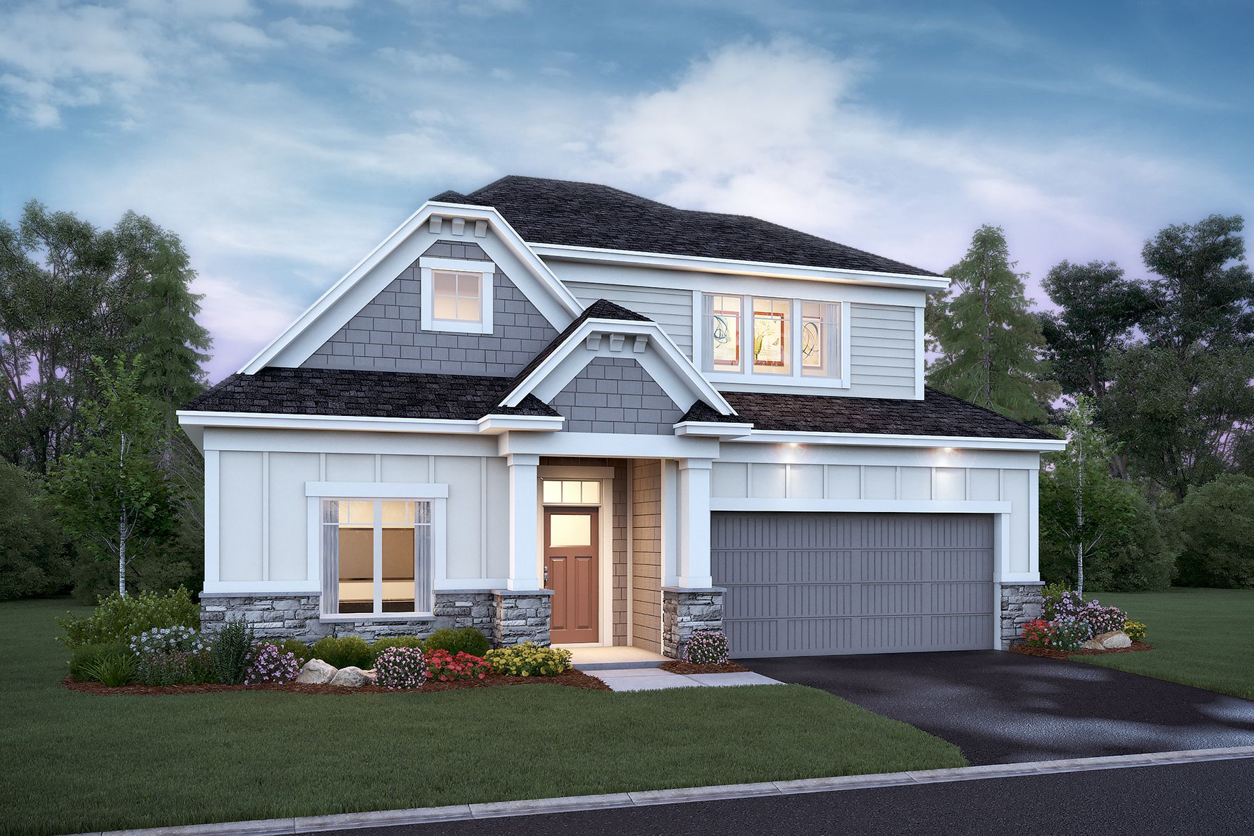 Exterior featured in the Aspen By M/I Homes in Minneapolis-St. Paul, MN