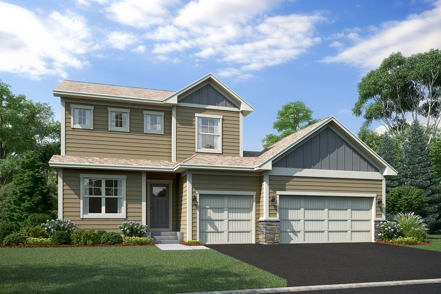 Exterior featured in the Payton By M/I Homes in Minneapolis-St. Paul, MN