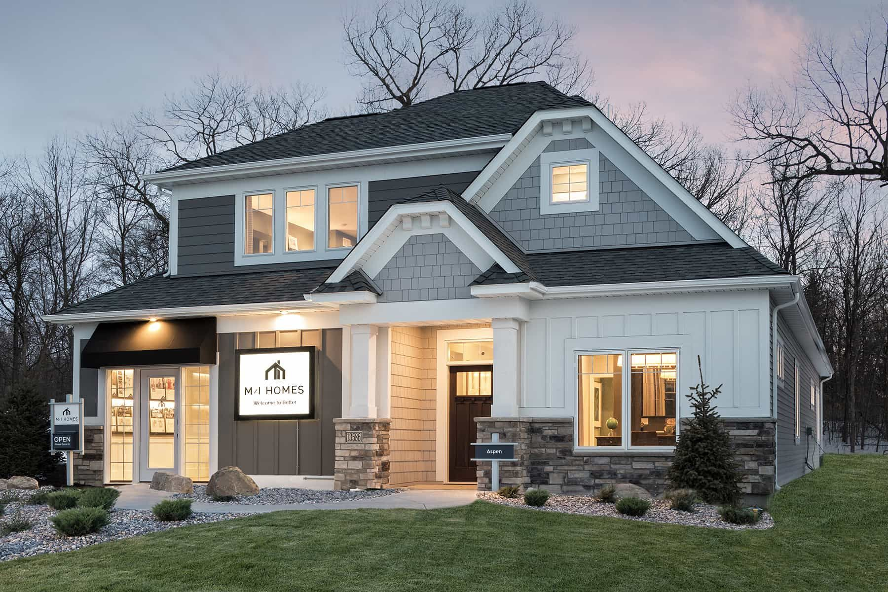 Exterior featured in the Linden II By M/I Homes in Minneapolis-St. Paul, MN