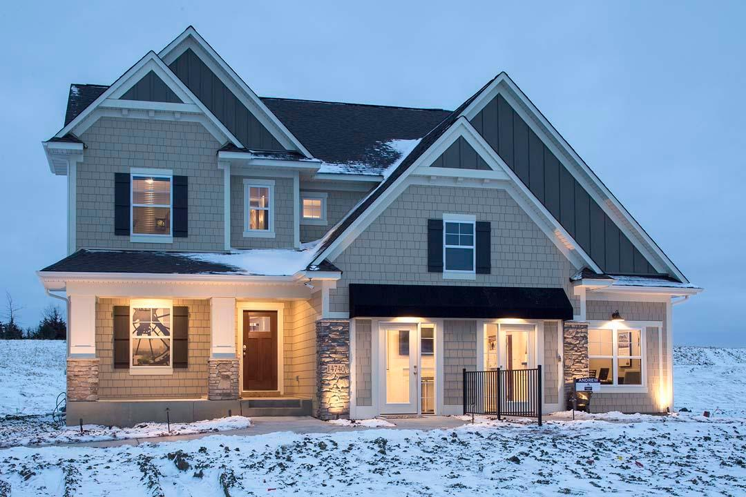Exterior featured in the Andrew By M/I Homes in Minneapolis-St. Paul, MN