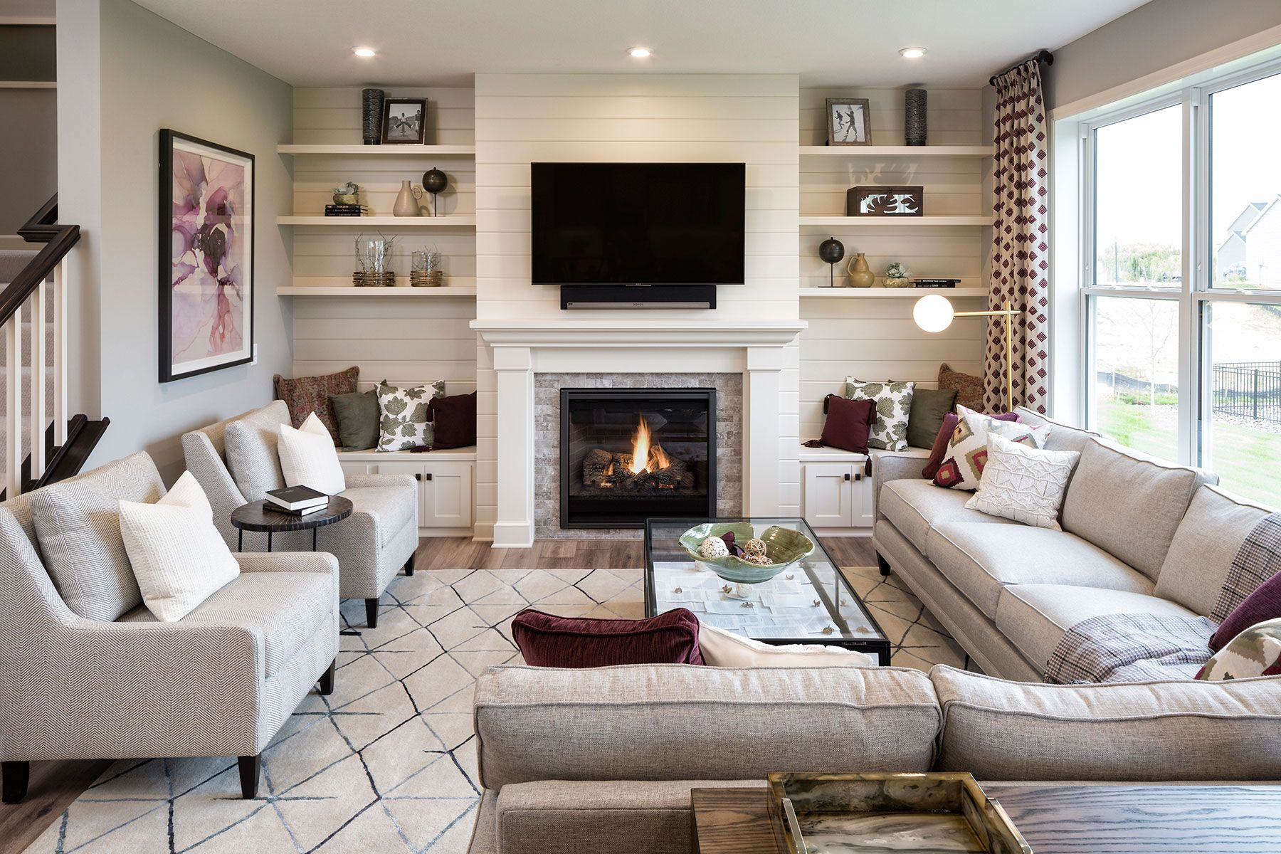 Living Area featured in the Taylor By M/I Homes in Minneapolis-St. Paul, MN