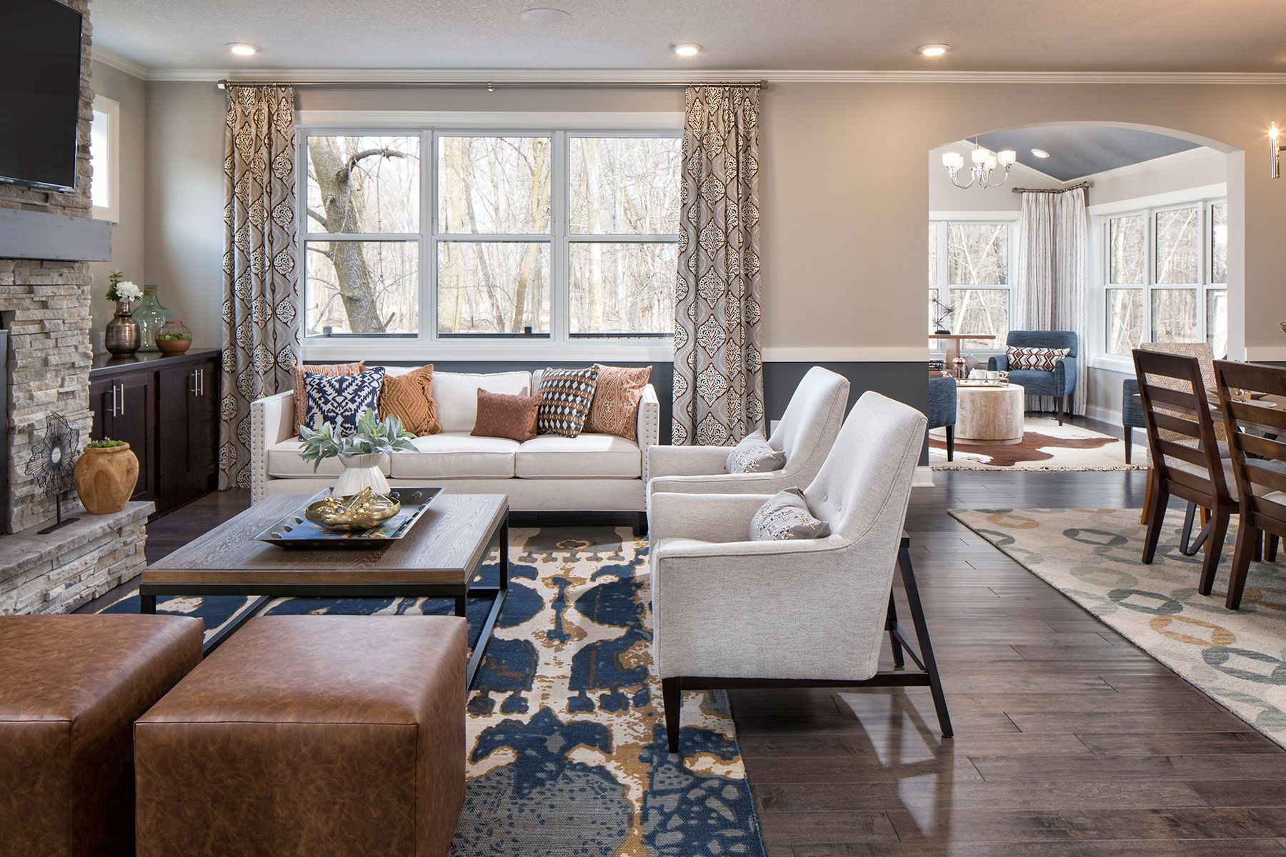 Living Area featured in the Eastman By M/I Homes in Minneapolis-St. Paul, MN