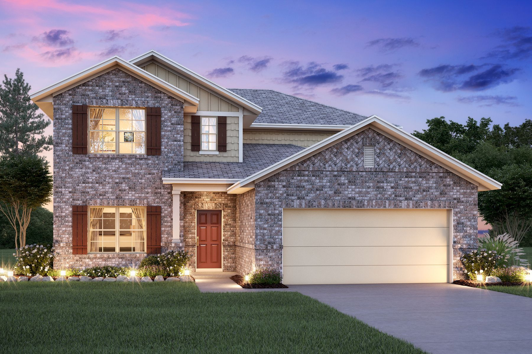Exterior featured in the Magellan By M/I Homes in San Antonio, TX