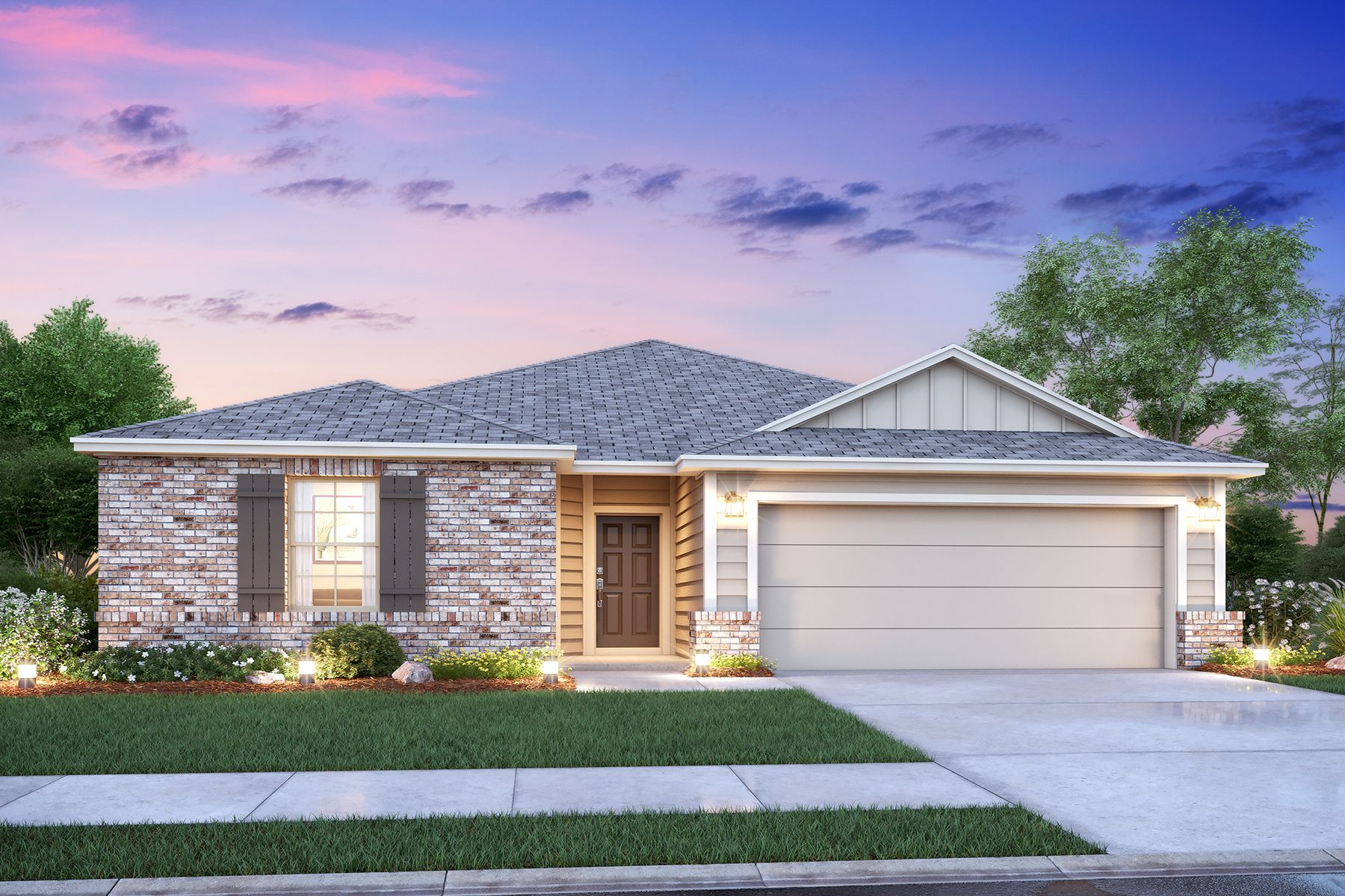 Exterior featured in the Moscoso By M/I Homes in San Antonio, TX