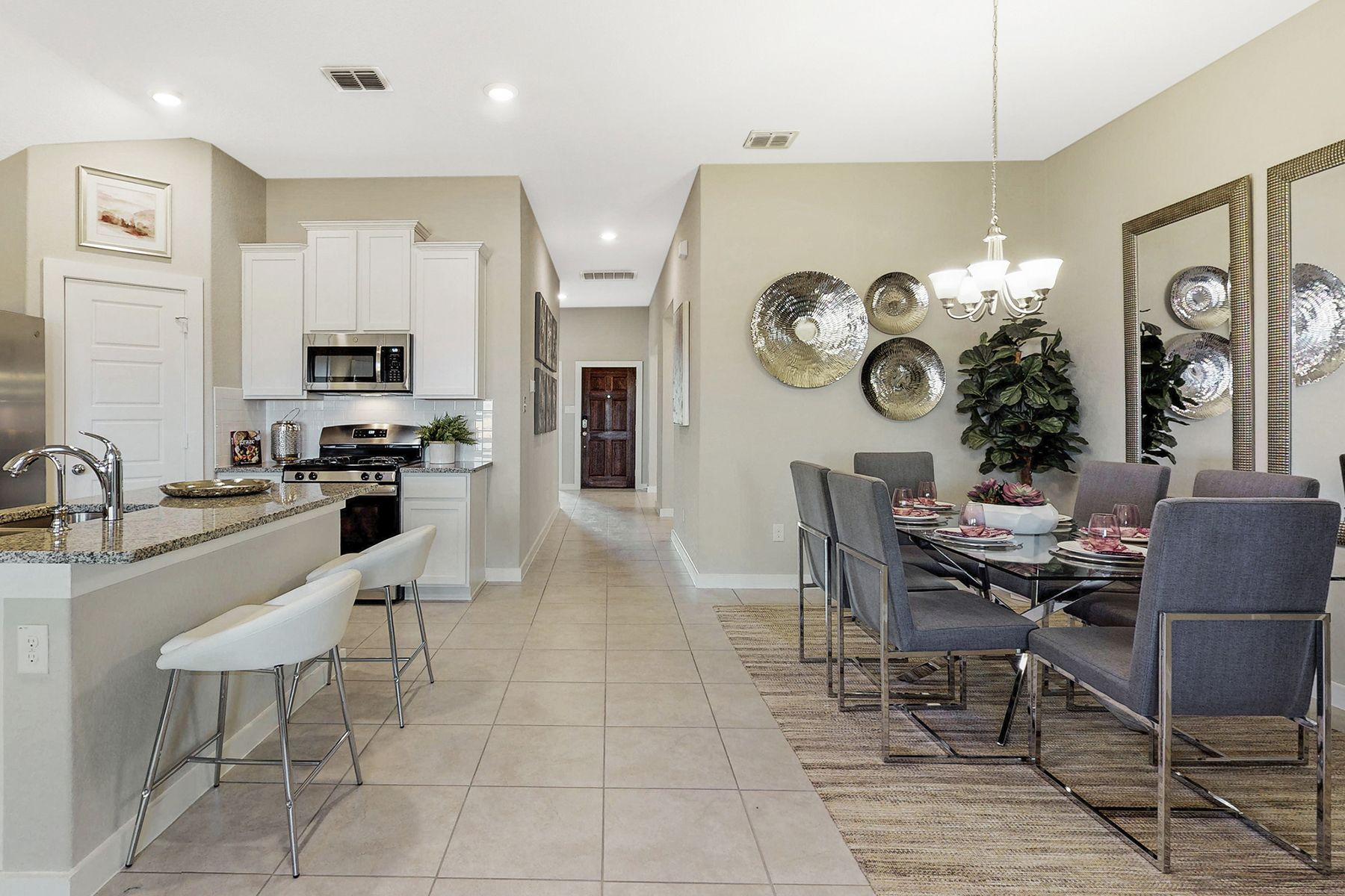 Kitchen featured in the Freestone By M/I Homes in San Antonio, TX