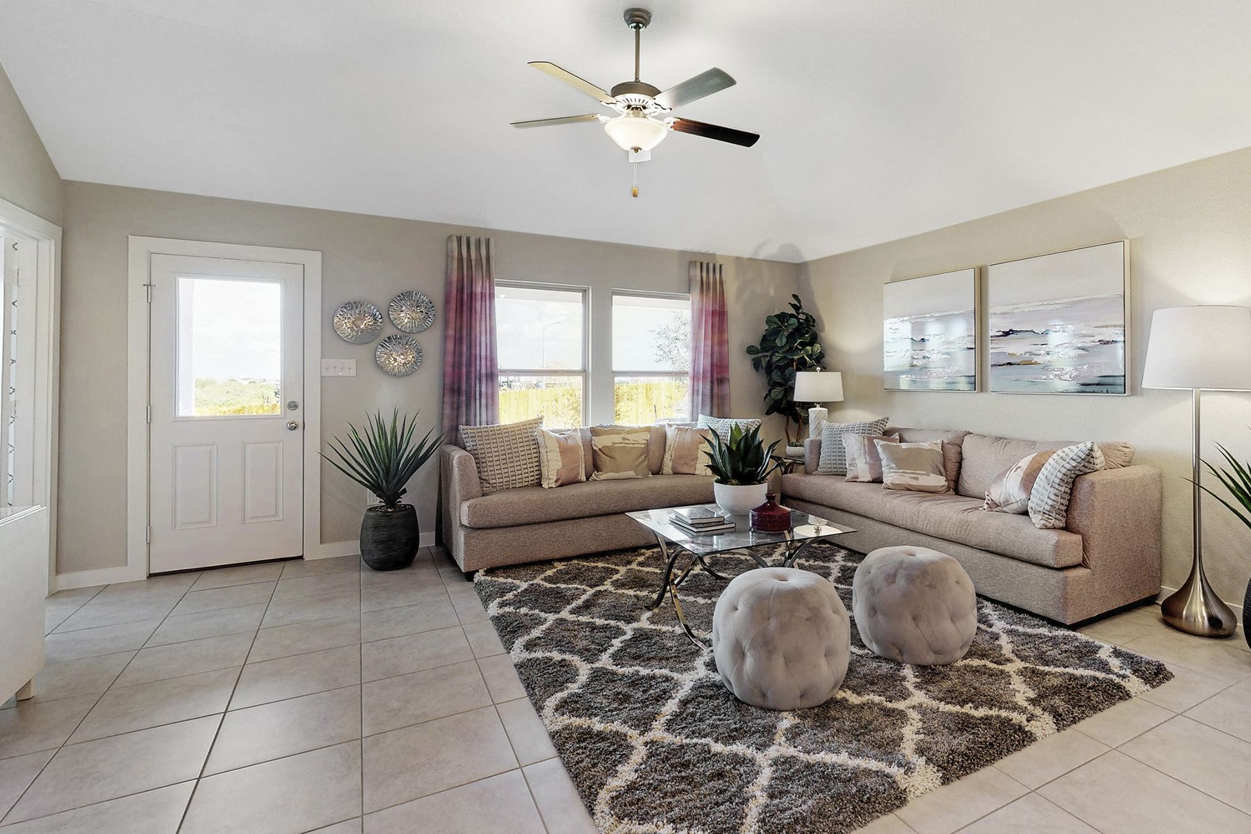 Living Area featured in the Freestone By M/I Homes in San Antonio, TX