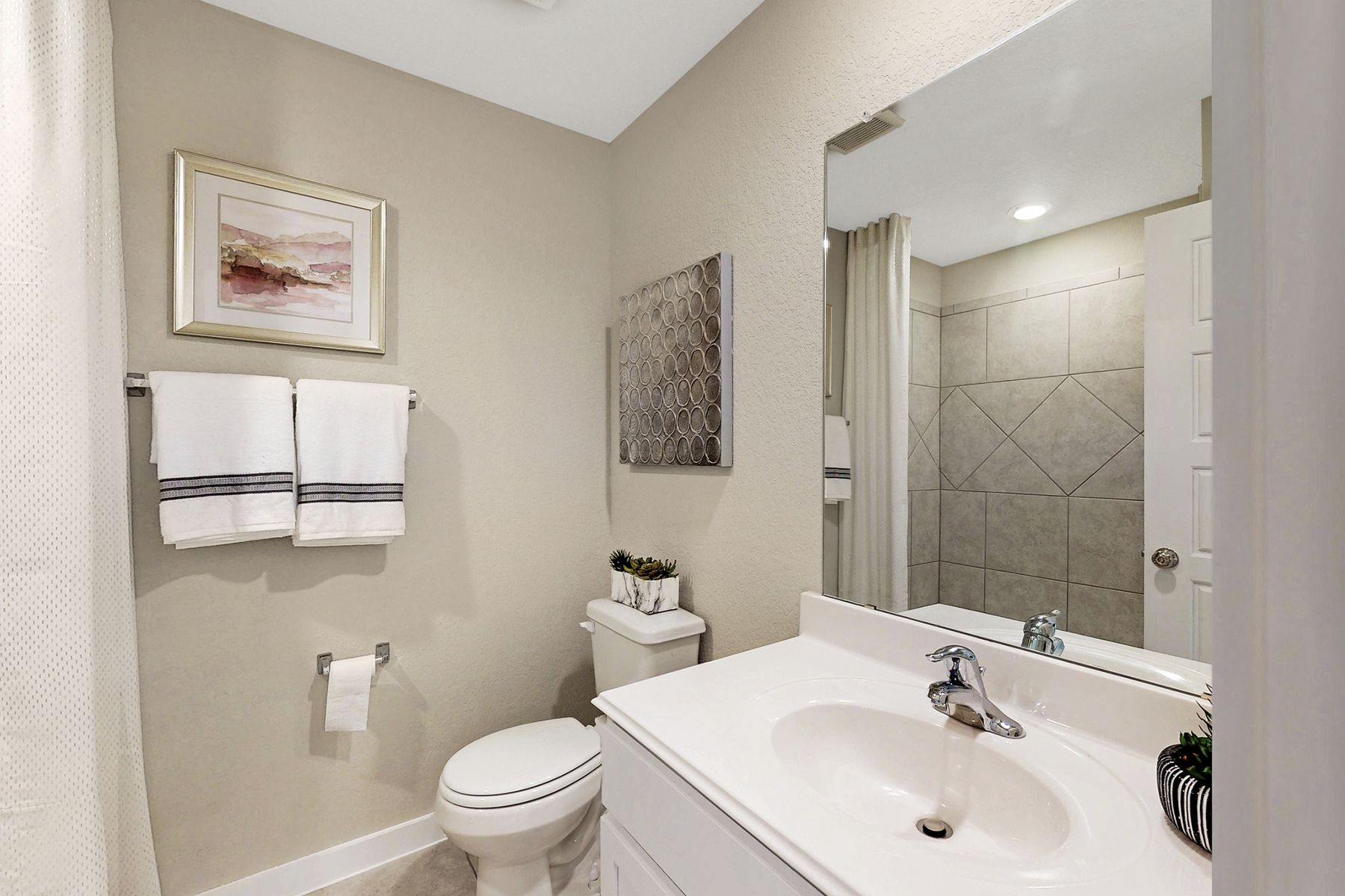 Bathroom featured in the Freestone By M/I Homes in San Antonio, TX