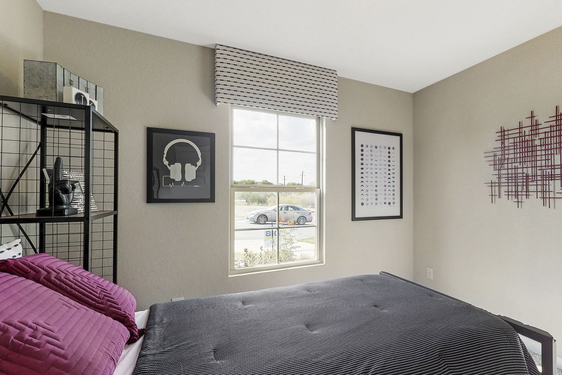 Bedroom featured in the Freestone By M/I Homes in San Antonio, TX