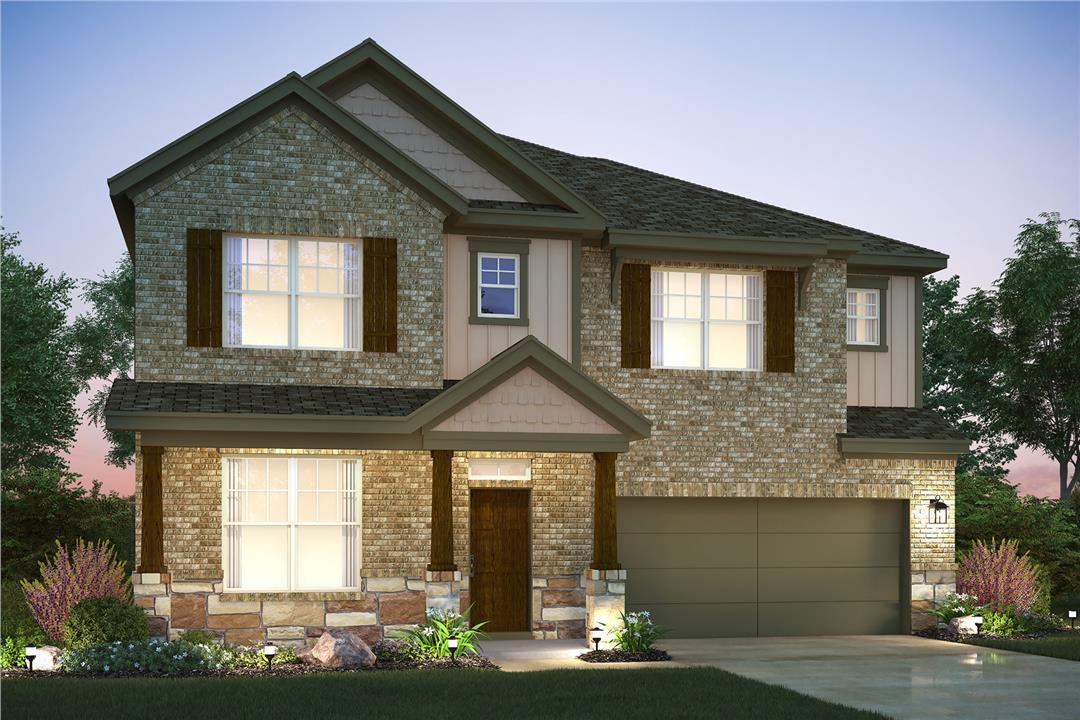 Exterior featured in the Bonnell By M/I Homes in Austin, TX