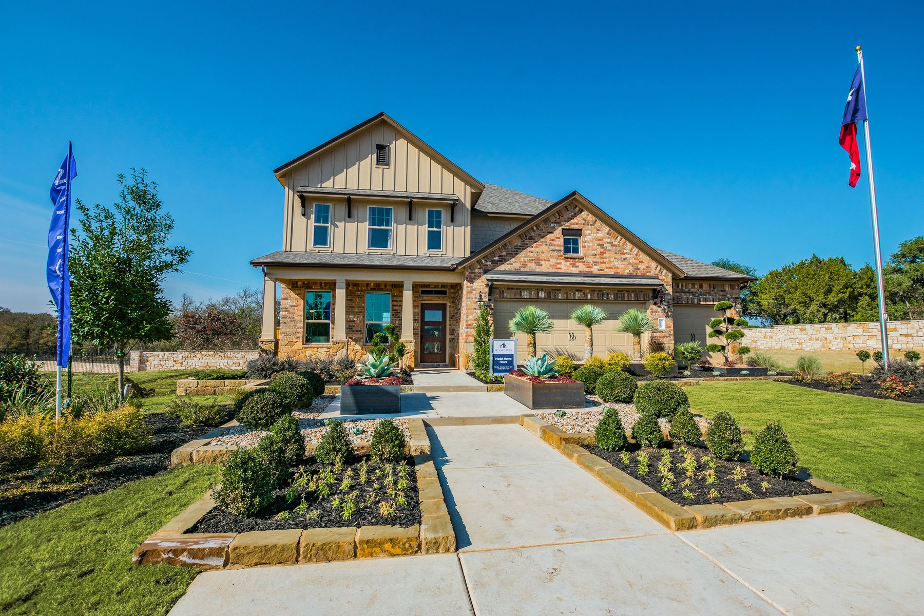 Exterior featured in the Trinity By M/I Homes in Austin, TX