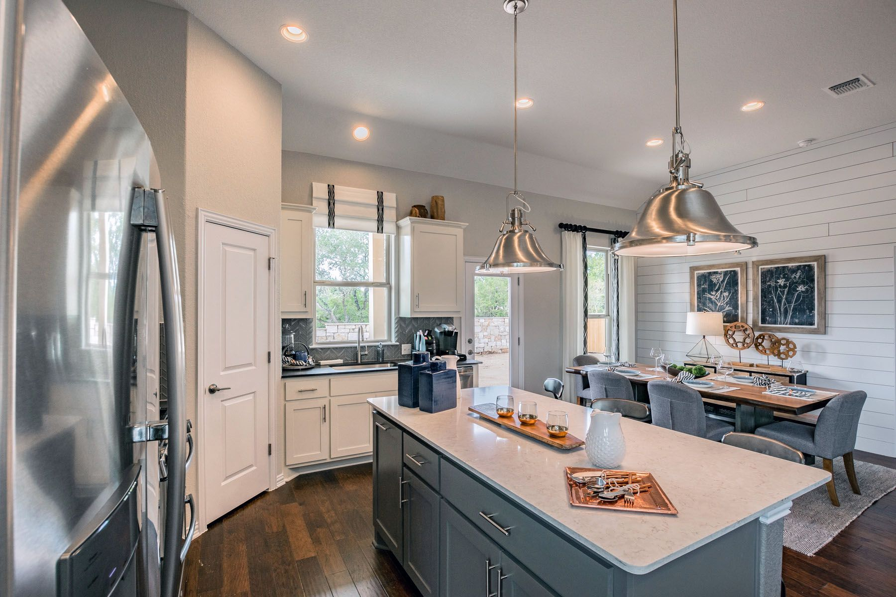Kitchen featured in the Trinity By M/I Homes in Austin, TX